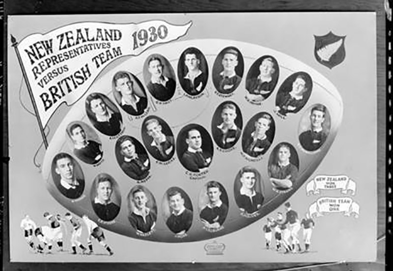 New Zealand representative rugby union team, New Zealand vs Britain, 1930